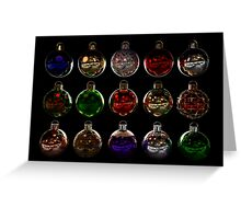 Christmas Baubles - Assorted Greeting Card