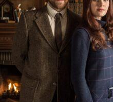 Outlander - Roger & Brianna - Season 2 Sticker