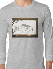 The view from my bedroom window Long Sleeve T-Shirt