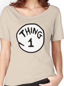 Thing--1--2 Women's Relaxed Fit T-Shirt