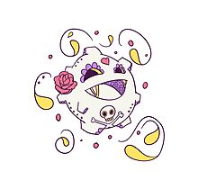 Koffing Popmuerto | Pokemon & Day of The Dead Mashup Photographic Print