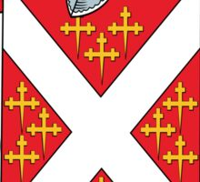 Denney Coat of Arms (Kerry, Ireland) Sticker