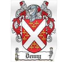 Denny Coat of Arms (Kerry, Ireland) Poster