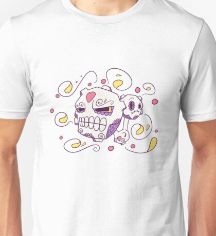 Weezing Popmuerto | Pokemon & Day of The Dead Mashup Unisex T-Shirt