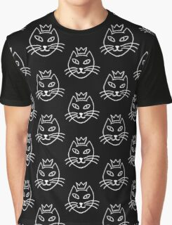 Cat is King Graphic T-Shirt