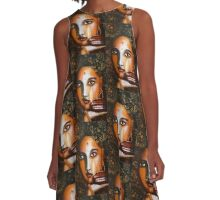 Light in the Darkness A-Line Dress