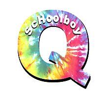 ScHoolboy Q - Tie Dye Photographic Print