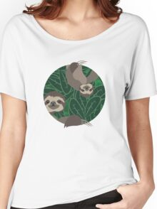 Life of Sloth Women's Relaxed Fit T-Shirt