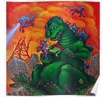 My Little Kaiju Poster
