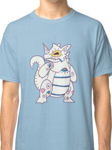Rhydon Popmuerto | Pokemon & Day of The Dead Mashup Classic T-Shirt