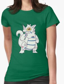Rhydon Popmuerto | Pokemon & Day of The Dead Mashup Womens Fitted T-Shirt