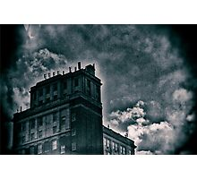 Haunted Blue Photographic Print