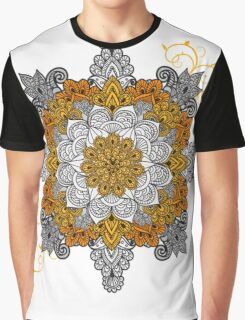 Gold & Silver Graphic T-Shirt