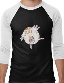 Chansey Popmuerto | Pokemon & Day of The Dead Mashup Men's Baseball ¾ T-Shirt