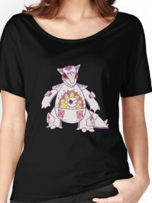 Kangaskhan Popmuerto | Pokemon & Day of The Dead Mashup Women's Relaxed Fit T-Shirt