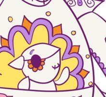 Kangaskhan Popmuerto | Pokemon & Day of The Dead Mashup Sticker