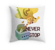 GameCube Tribute - Zelda Throw Pillow