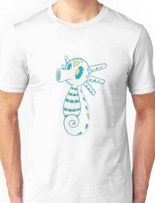 Horsea Popmuerto | Pokemon & Day of The Dead Mashup Unisex T-Shirt