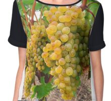 Vineyard Grapes  Chiffon Top