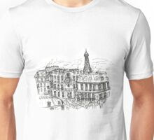 Paris Rooftops Unisex T-Shirt