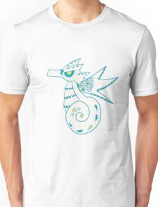 Seadra Popmuerto | Pokemon & Day of The Dead Mashup Unisex T-Shirt