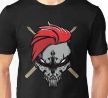The Drummer Skull Unisex T-Shirt