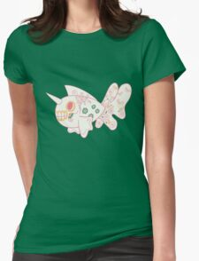 Seaking Popmuerto | Pokemon & Day of The Dead Mashup Womens Fitted T-Shirt