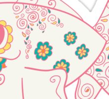 Seaking Popmuerto | Pokemon & Day of The Dead Mashup Sticker
