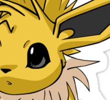 Cutesy Jolteon Pokemon Sticker