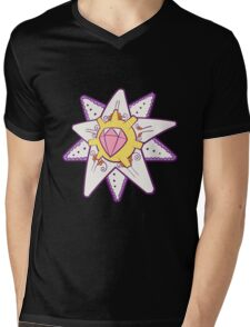 Starmie Popmuerto | Pokemon & Day of The Dead Mashup Mens V-Neck T-Shirt