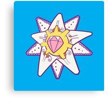 Starmie Popmuerto | Pokemon & Day of The Dead Mashup Canvas Print
