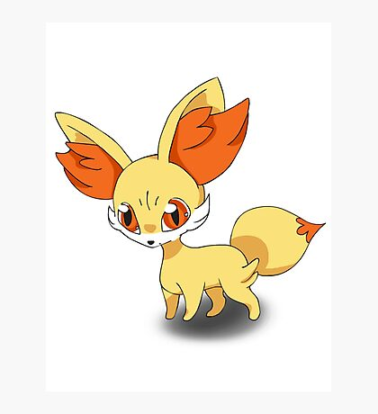 Fennekin Pokemon Photographic Print