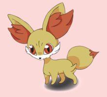 Fennekin Pokemon Kids Tee