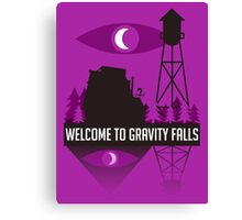 Welcome to Gravity Falls Canvas Print
