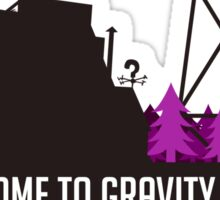 Welcome to Gravity Falls Sticker