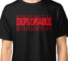 Deplorable X: Basket of Deplorables Classic T-Shirt