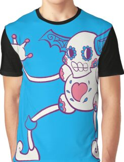 Mr. Mime Popmuerto | Pokemon & Day of The Dead Mashup Graphic T-Shirt