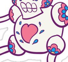 Mr. Mime Popmuerto | Pokemon & Day of The Dead Mashup Sticker