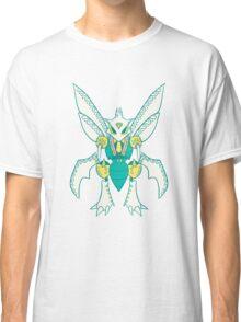 Scyther Popmuerto | Pokemon & Day of The Dead Mashup Classic T-Shirt