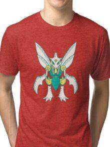 Scyther Popmuerto   Pokemon & Day of The Dead Mashup Tri-blend T-Shirt