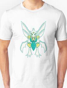 Scyther Popmuerto | Pokemon & Day of The Dead Mashup Unisex T-Shirt