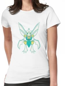 Scyther Popmuerto | Pokemon & Day of The Dead Mashup Womens Fitted T-Shirt