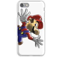 Mario Screen KO! iPhone Case/Skin