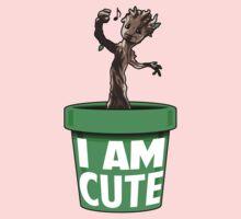 I Am Cute Baby Tee