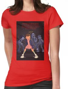 STRANGER THINGS Gifts and Merchandise Womens Fitted T-Shirt