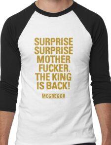 McGregor - Surprise Surprise - UFC202 Men's Baseball ¾ T-Shirt