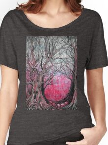 blood trees  Women's Relaxed Fit T-Shirt