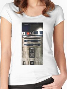 R2-D2 Women's Fitted Scoop T-Shirt