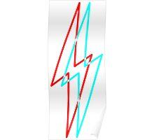 3D Bolt Poster