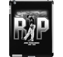Jose Fernandez RIP iPad Case/Skin